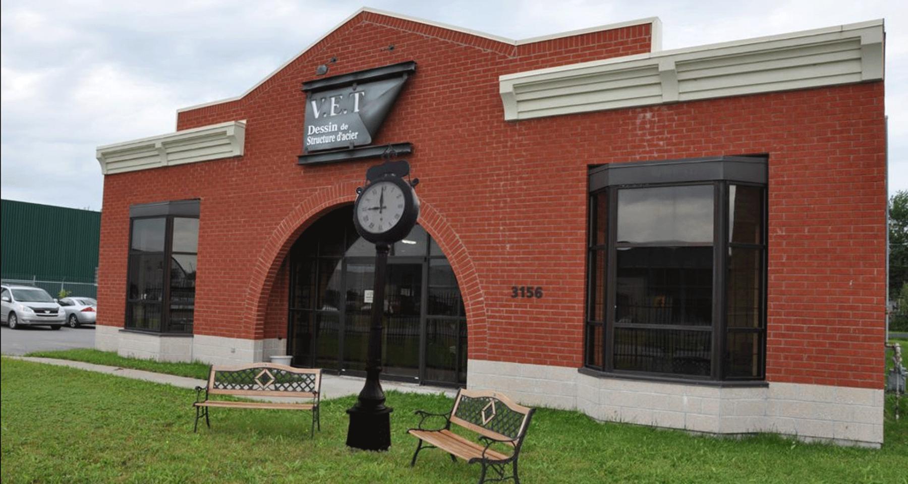 Les bureaux de VET dessin situés dans Lanaudière, à Terrebonne
