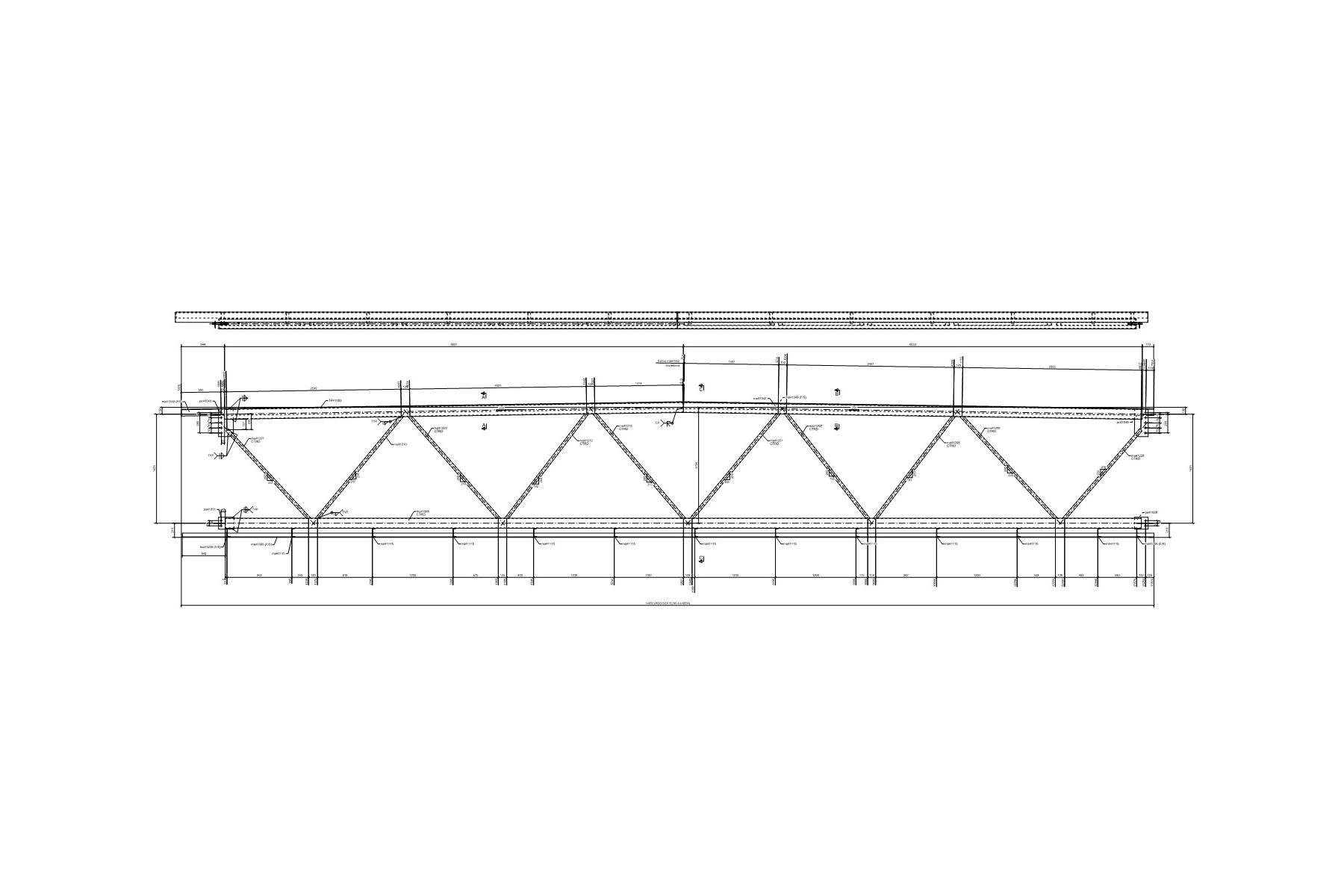 Dessin réalisé à partir du logiciel Tekla Structures